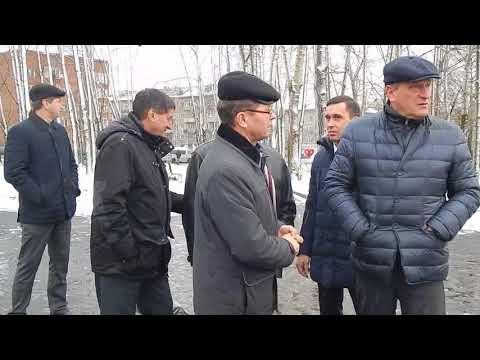 Омутнинск. Приезд губернатора Васильева