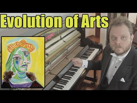 Evolution of Art (1800 AD - 2017) - Music, Paintings and Furniture
