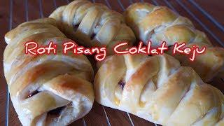 Cara Buat Roti Manis Lembut isi Pisang Coklat Keju Tanpa Ulen /  MamiVe's Diary