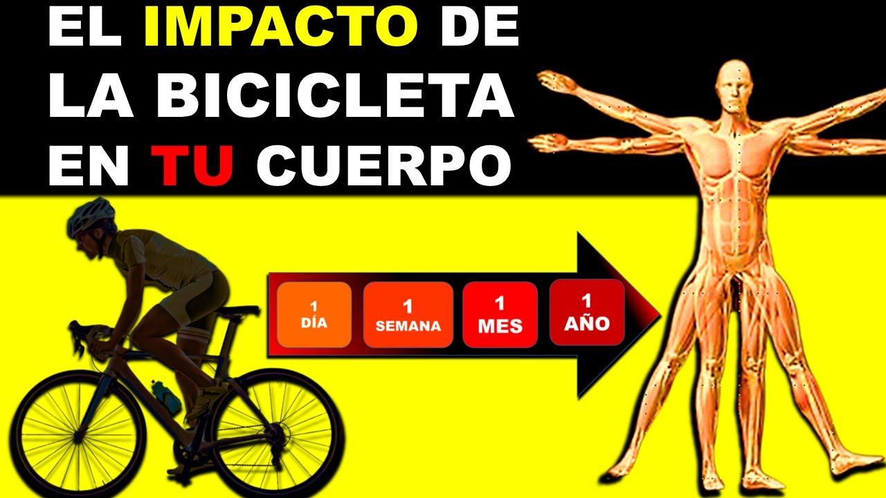 LO QUE LE PASA A TU CUERPO CUANDO MONTAS BICICLETA │ Ciclismo y Salud