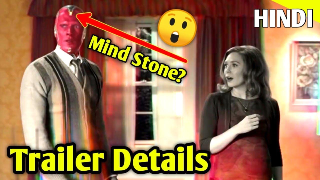 WandaVision (2020) Trailer New Details + Explained in hindi