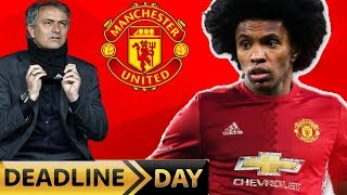 WILLIAN TO MANCHESTER UNITED?! - TRANSFER DEADLINE DAY!