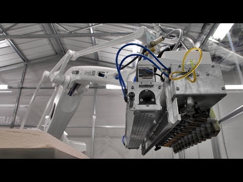Robotic 3D Printing Makes Sand Molds and Cores