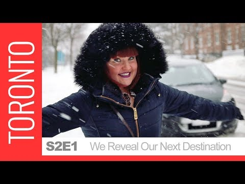 Goodbye Cold Toronto, Hello... - Revealing Our Next Destination