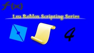 Learn Lua in roblox, Functions/ EP 004