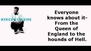 Marcus Collins- Seven Nation Army (Lyrics on Screen)