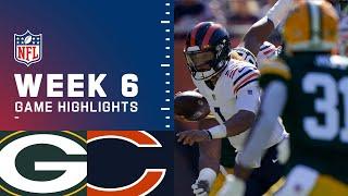 Packers vs. Bears Week 6 Highlights | NFL 2021