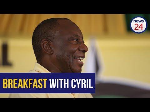 WATCH LIVE: Cyril Ramaphosa Breakfast