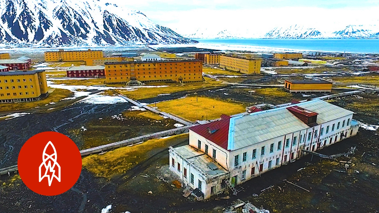 An Abandoned Soviet Mining Town, Frozen in Time
