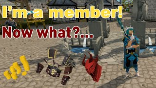 10 Things New RuneScape Members Should Do