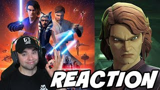 Reacting to Clone Wars Season 7 Trailer and Breakdown