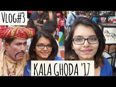 Kala Ghoda Art Festival 2017 | Mumbai | Vlog