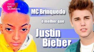 MC Brinquedo é melhor que Justin Bieber - Mais que desimpedidos
