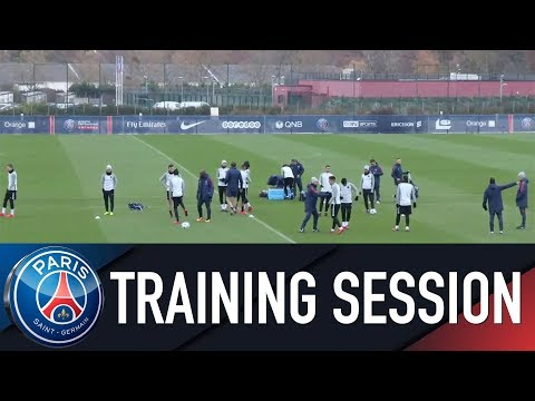 Paris Saint-Germain training session PARIS SAINT-GERMAIN vs CELTIC GLASGOW