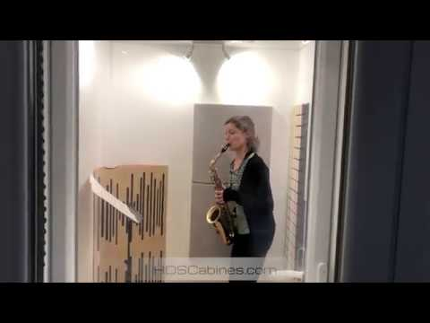 Soundproofing alto saxophone - Isolation saxophone performante