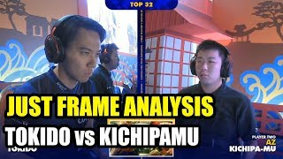 Just Frame Analysis - Tokido Akuma Vs Kichipa-mu Zangief