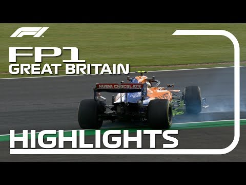 2019 British Grand Prix | FP1 Highlights