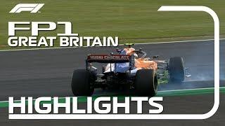 2019 British Grand Prix: FP1 Highlights
