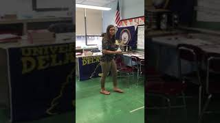 Teacher raps to bodak yellow😂