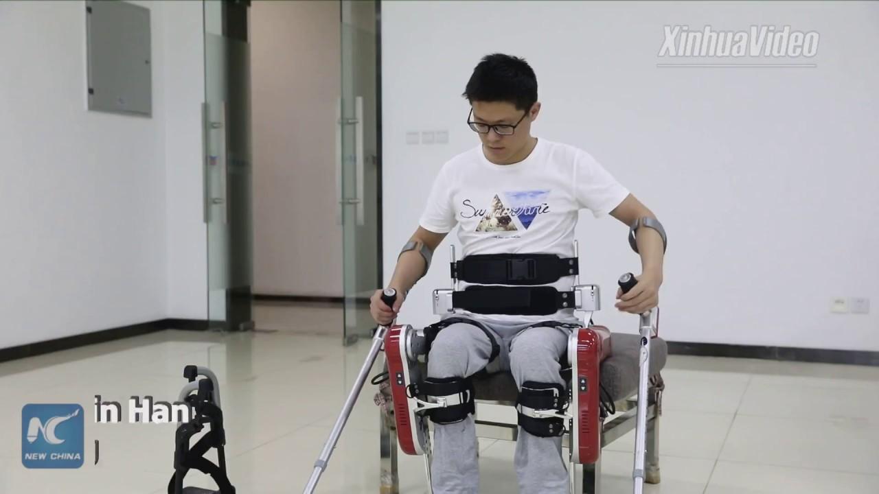 Exoskeleton Gives New Hope to Paraplegics images