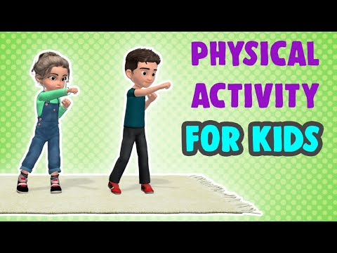 Physical Activities For Kids: Get Active At Home!