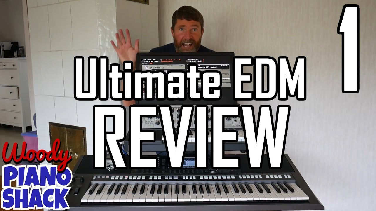 Jan's Ultimate EDM Styles Expansion Pack for Yamaha PSR-S970/S770 & Tyros  demo & review (Part 1) by Woody Piano Shack