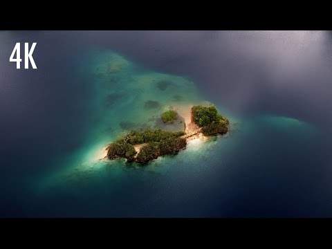 Lagunas de Montebello desde el aire - 4K