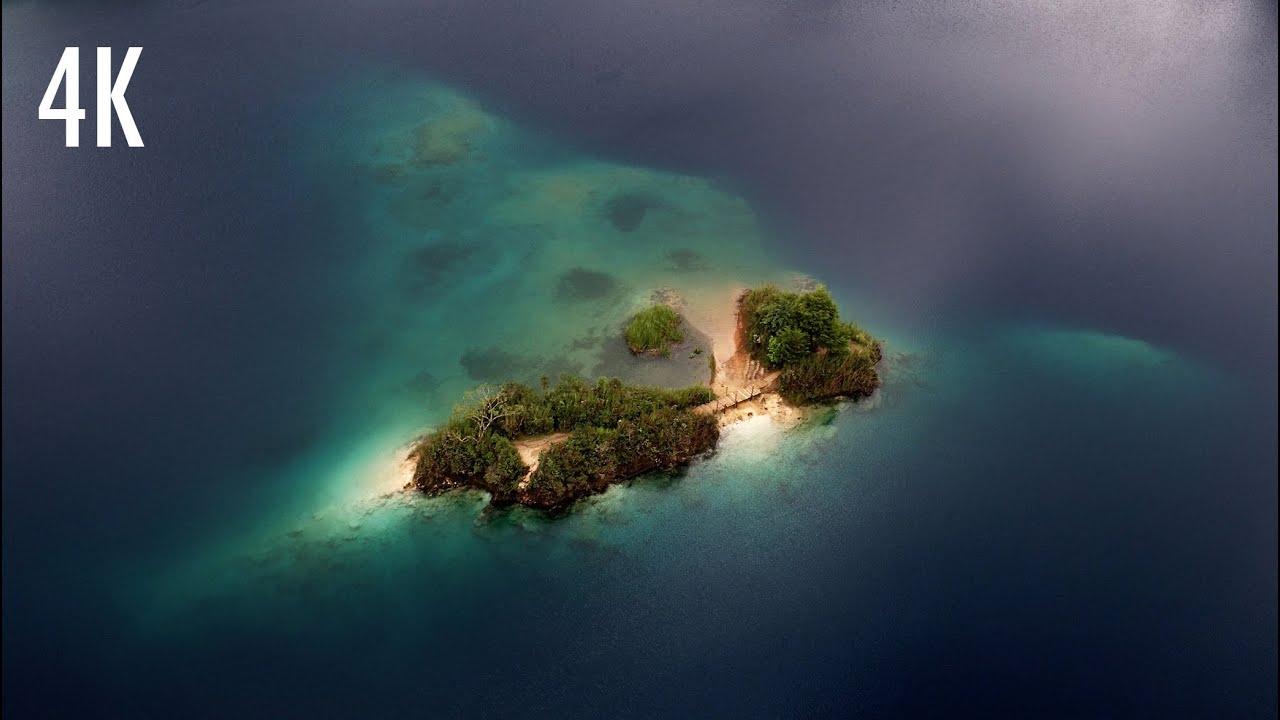 Lagunas de Montebello desde el aire  4K  YouTube