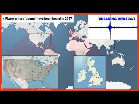 Mysterious 'booms' have been heard 64 times in 2017 - Breaking News 24/7