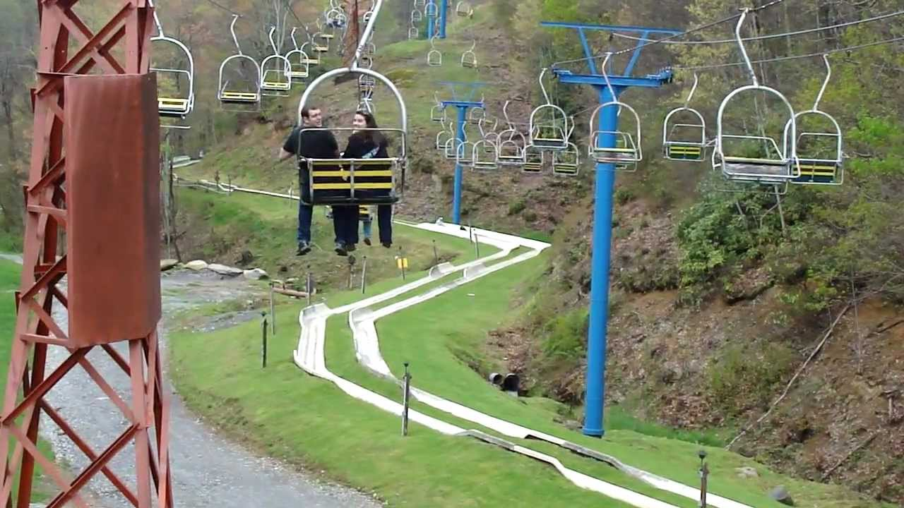 Attractive Chairlift And Alpine Slide, Ober Gatlinburg, Gatlinburg, Tennessee