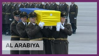 Kiev: Bodies of downed plane victims arrive in Ukraine from Iran