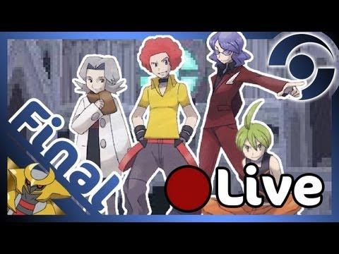 LIVE FINAL Pokémon version Platine - La Ligue Pokémon !!
