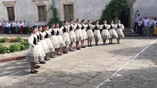 Hungarian Group Dance - Svirzh Castle - Ukraine - Lviv 2018