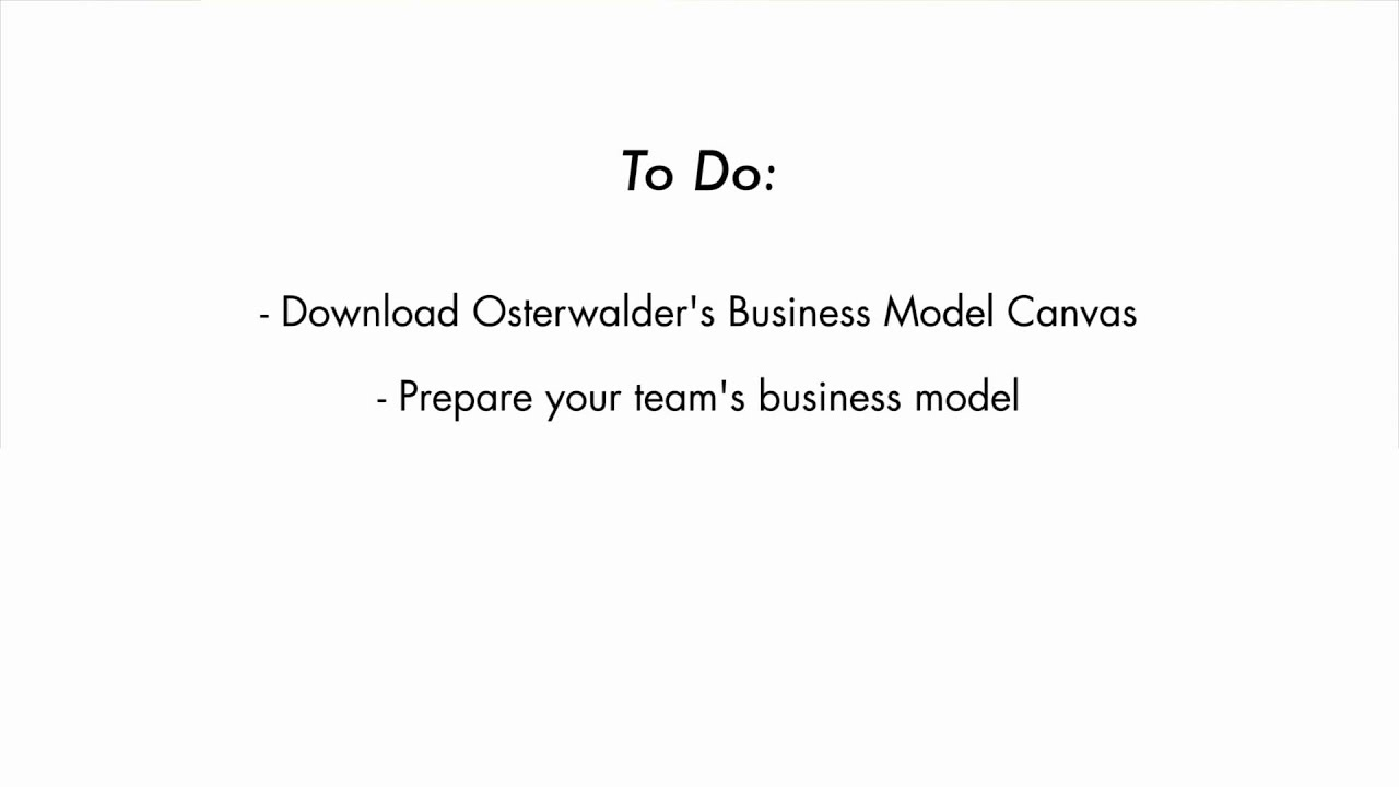 Optional Reading And Homework - How to Build a Startup