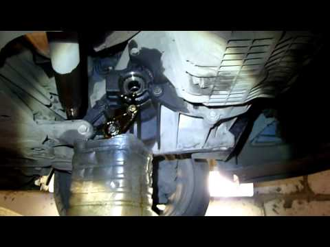 Замена сальника коробки передач Форд Фокус