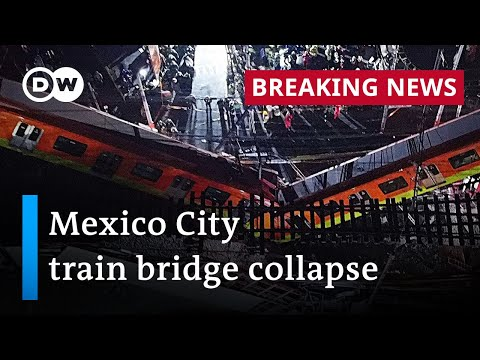 At least 20 dead in metro train bridge collapse in Mexico City   DW News