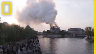 Street Scenes from the Notre Dame Fire | National Geographic