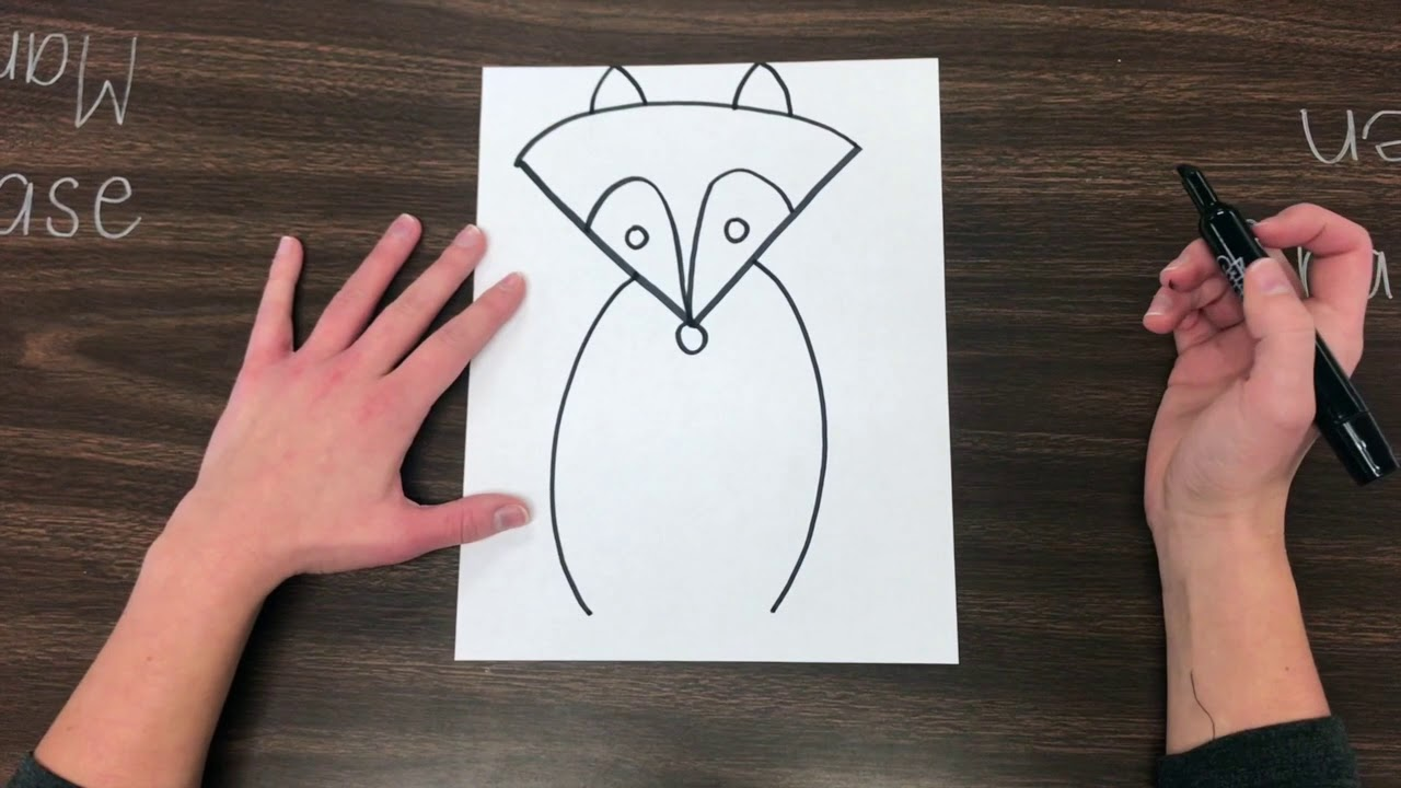 Fantastic Mr Fox Guided Drawing Youtube