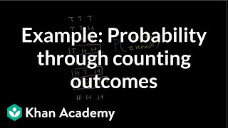 Example: Probability through counting outcomes | Precalculus | Khan Academy thumbnail