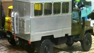 ГАЗ-3308 (4x4) от Автоистории конверсия в Вахтовый кунг 1:43