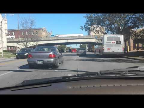 Drive Through Louisville Kentucky