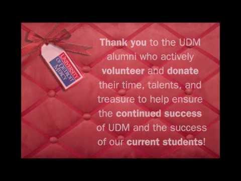 University of Detroit Mercy: Thank You!