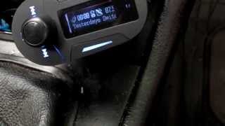 A Car Mp3 Transmitter remote & how to change language