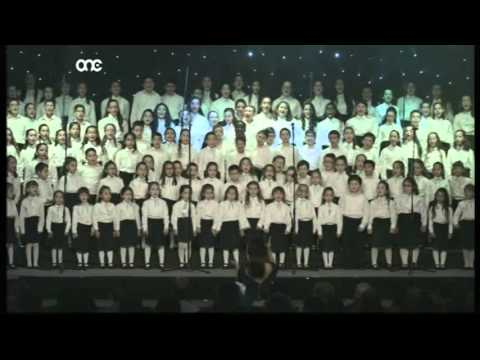Malta National Children's Choir - I Just Can't Wait To Be King On The Magical Christmas Concert 2015