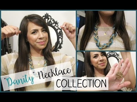 """""""Dainty"""" Necklace Collection ♡ Baublebar, Dogeared, Francesca's, & More!"""