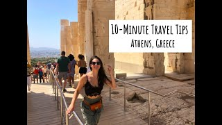 10-Minute Travel Tips: Athens, Greece