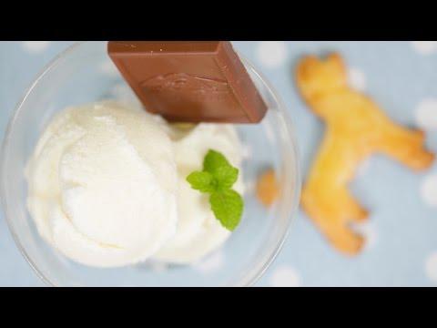 Milk Gelato Recipe (Homemade Italian Ice Cream Using Lots of Fresh Milk) | Cooking with Dog