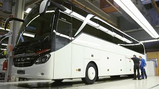 How Mercedes-Benz and Setra Buses Assemble