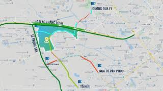 4 tuyến đường gia tăng kết nối Imperia Smart City
