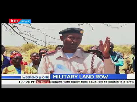 Military land row in Isiolo